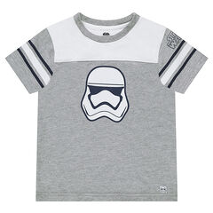 Tee-shirt manches courtes bicolore avec print Star Wars™ Stormtrooper