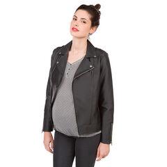 Perfecto de grossesse en simili cuir