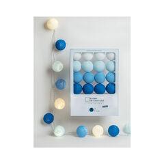 Coffret guirlande lumineuse Lucien - Bleu