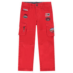 Pantalon en twill à poches Disney/Pixar® badges Cars