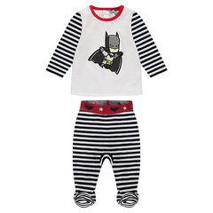Pyjama velours avec rayures et print ©Warner Batman