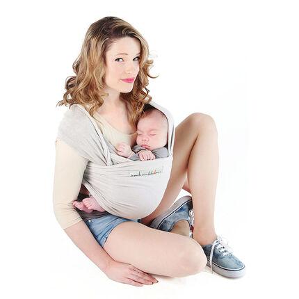Echarpe porte-bébé Basic - Perle