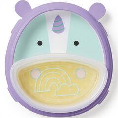Pack vaisselle Zoo Smart Serve - Licorne
