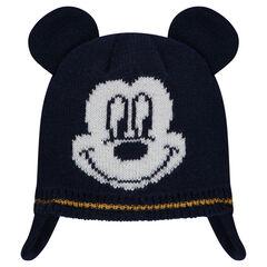 Bonnet péruvien en tricot avec motif ©Disney Mickey en jacquard