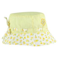 Charlotte en coton motif fleurs