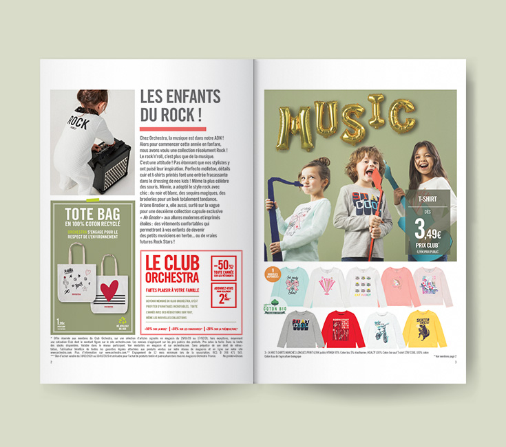 Fashion magazine n°9 Orchestra 2020