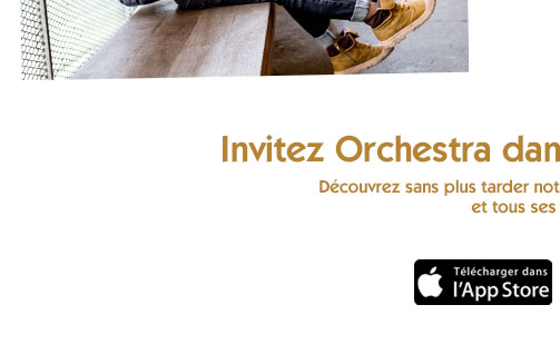 nouvelle application Orchestra I Phone App store