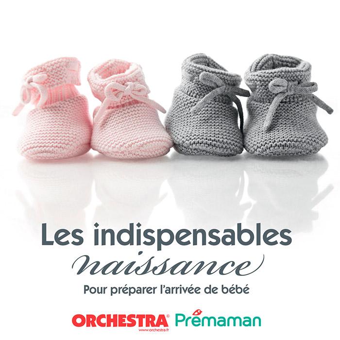 Indispensables naissance valise maternité bébé layette taille prématuré