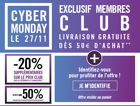 BLACK FRIDAY Orchestra footer offre membres du Club