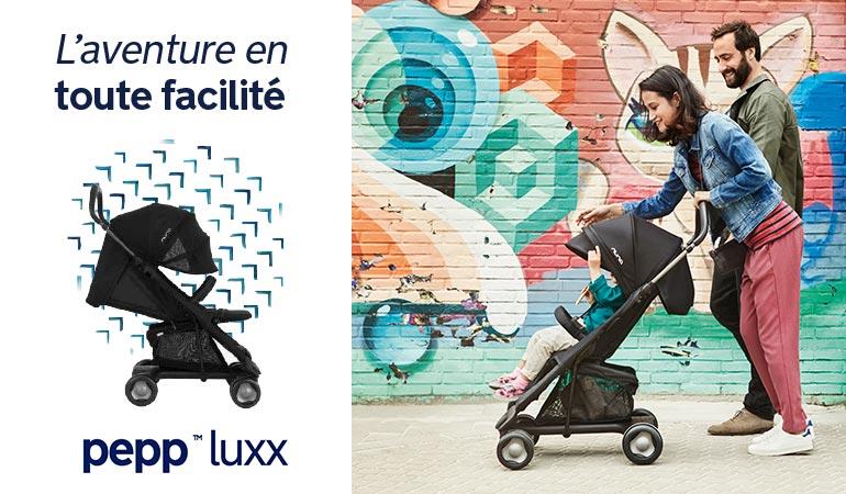 Découvrez Nuna la marque de puériculture en exclusivité chez Orchestra - Promenade, poussette Pepp Luxx