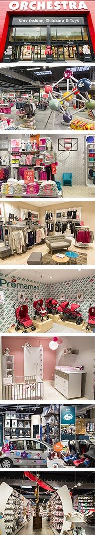 photos des magasins et mégastores Orchestra Prémaman