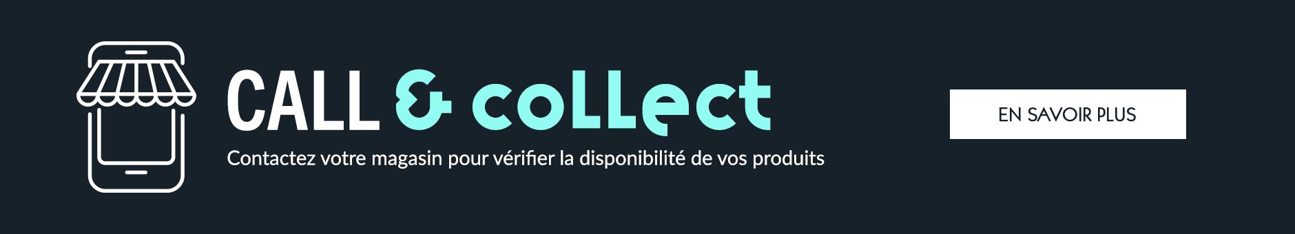 Le Call & Collect est désormais disponible !