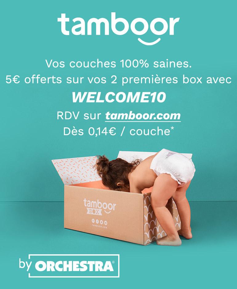 Tamboor - Vos couches 100% saines