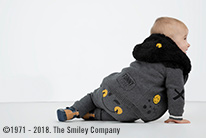 Trendy smiley baby 1-12 mois
