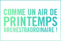 COMME UN AIR DE PRINTEMPS