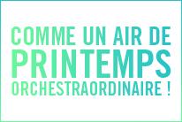 COMME UN AIR DE PRINTEMPS