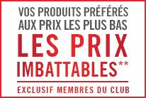 PRIX IMBATTABLES